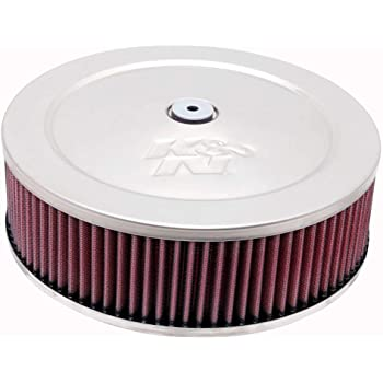 Top AIR-700-420 Flange ID; 9 in Height; 6 in Airaid 700-420 Universal Clamp-On Air Filter: Round Tapered; 3.5 in Base; 4.625 in 89 mm 229 mm 152 mm 117 mm
