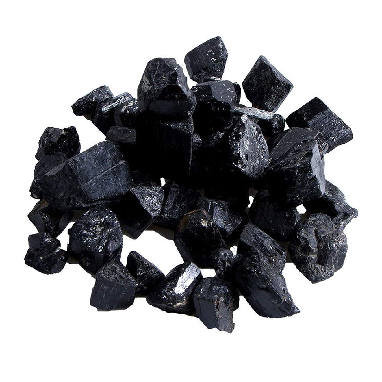 作りこどもの宮殿簿記係Funtoget 蒸し部屋用の天然黒トルマリンクリスタルラフストーンロック鉱物標本新しい