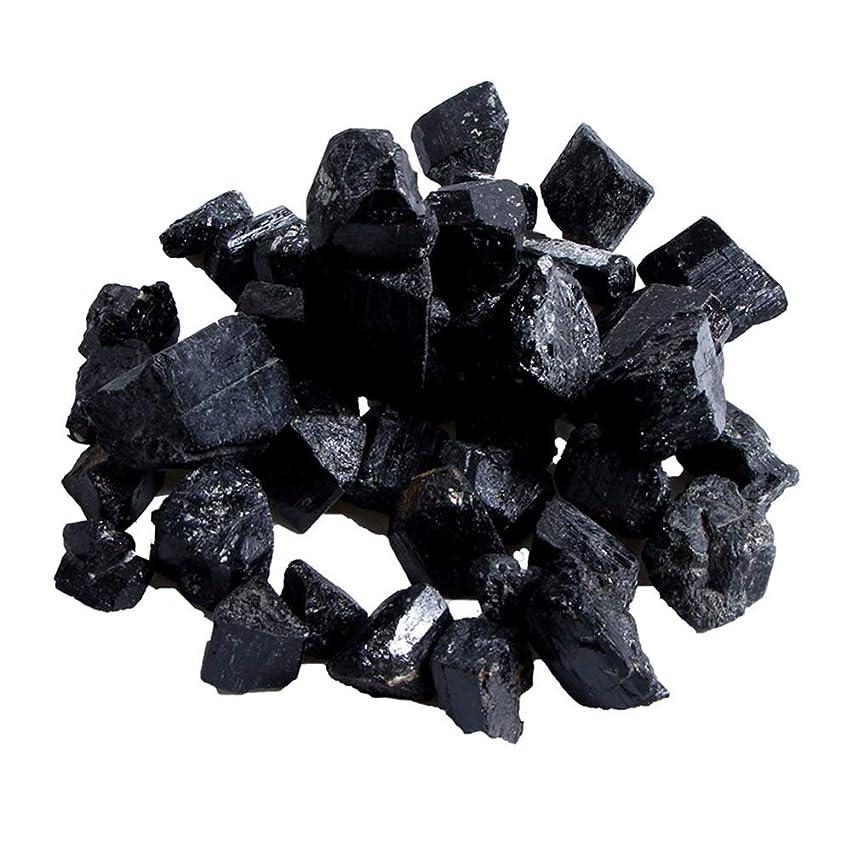 ユーモラス雄弁ヒギンズProfeel 蒸し部屋用の天然黒トルマリンクリスタルラフストーンロック鉱物標本新しい
