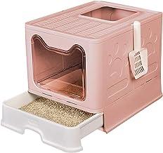 Kattenbak Op Rand Kattenbak Spatwaterdicht Toilet Voor Katten Antislip Toiletpot Voor Het Trainen Van Apparaten Eenvoudig ...