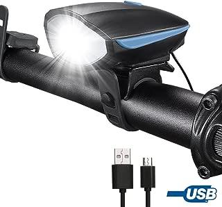 super luminose per bambini Set di luci da bicicletta ricaricabili USB per ciclismo su strada YaeTact anteriori e posteriori uomini e donne