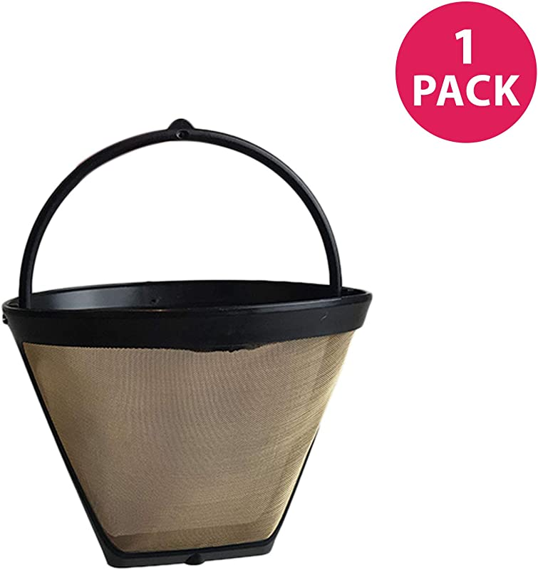 Think Crucial Replacement Compatible With Zojirushi Small Coffee Filter 4 Fits EC BD15BA Zutto Fresh Brew Thermal Carafe Coffee Maker Washable Reusable