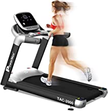 PowerMax TAC-2000 Motorized Treadmill for Fitness Exercises, 6 HP
