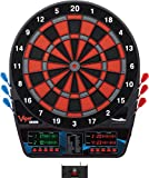 Viper by GLD Products Viper Orion Electronic Soft Tip Dartboard with LaserLite Laser Throw/Toe Line Marker, red and black