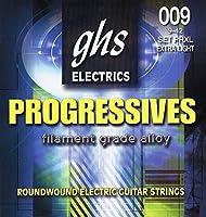 ghs エレキギター弦 PROGRESSIVES/プログレッシブ エクストラライト 09-42 PRXL