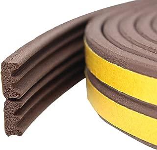 M M Seal A064 tira de neopreno universal para extrusi/ón de burletes 1 cm de alto x 4 cm de ancho Sello de goma con esponja autoadhesiva