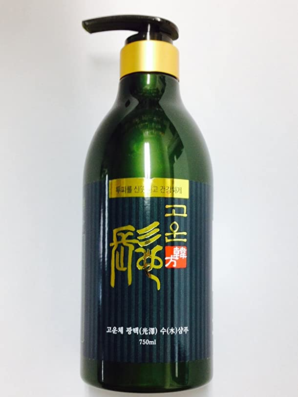 ゴウンチェ オーガニック韓方光沢シャンプー 750ml