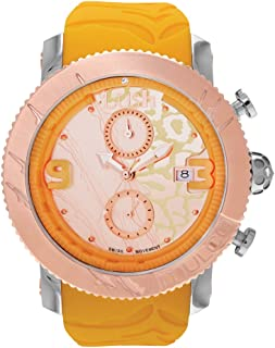 MULCO Unisex Swiss Chronograph Analog Watch - Multifunctional 100% Silicone Band - Water Resistant