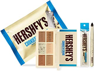 ETUDE HOUSE HERSHEY's Chocolate Brush Kit #Cookie & Cream - Play Color Eyes Mini Eyeshadow Palette & Brush - Special Limit...