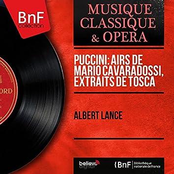 Puccini: Airs de Mario Cavaradossi, extraits de Tosca (Recorded in 1963)