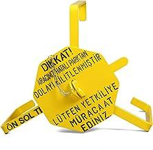 Lorex LR-TKI Araç Tekerlek Kilidi/Hatalı Park İkaz Teker Kelepçesi