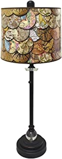 MISC Oil Rubbed World Map Table Lamp 28