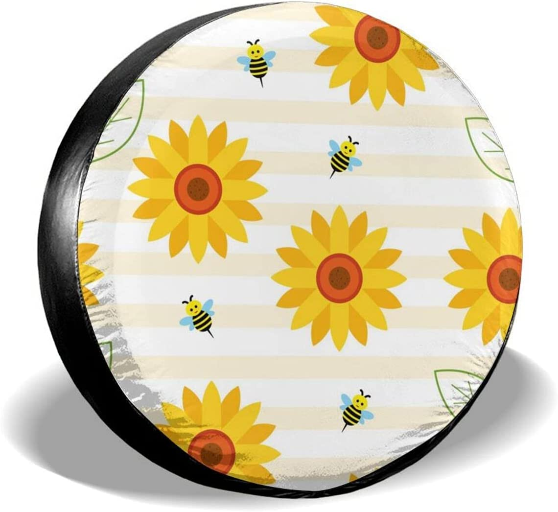 Sunflower Ranking TOP5 Bee Spare Tire Covers Cover Ranking TOP16 Universal Waterproof