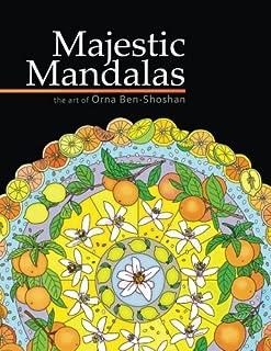 Majestic Mandalas Adult Coloring Book