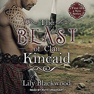 The Beast of Clan Kincaid audiobook cover art