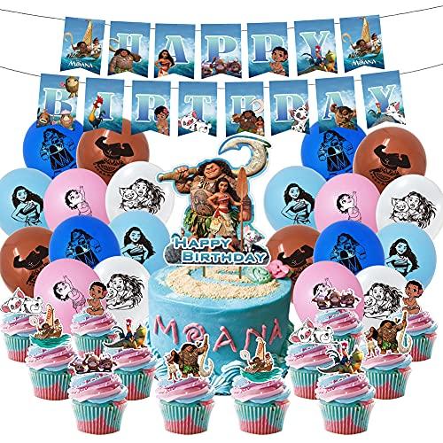 Hilloly Moana Partyballons Set, 48...