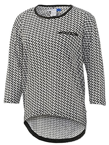 adidas Damen Originals Longsleeve Pocket Top (38)