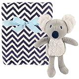 Hudson Baby Unisex Baby Plush Blanket with Toy, Koala, One Size