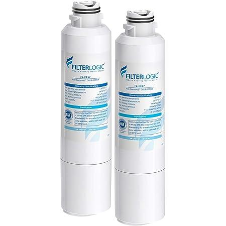 2 PK FilterLogic water Filter Replacement Samsung RF4267HABP Refrigerator