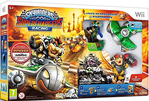 Skylanders 604348 Starter Pack Superchargers Wii Avec Amiibo Bowser