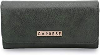Caprese Aurilia Women's Wallet (Olive Green)