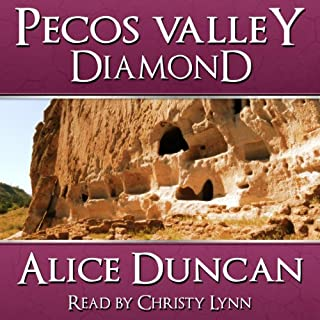 Pecos Valley Diamond audiobook cover art