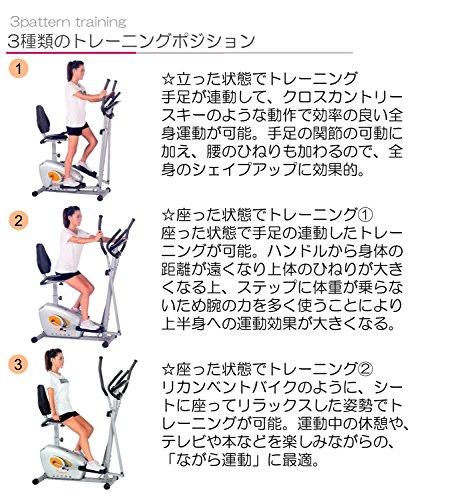 DAIKOU(ダイコー)『シート付エリプティカルバイク家庭用(DK-8509H)』