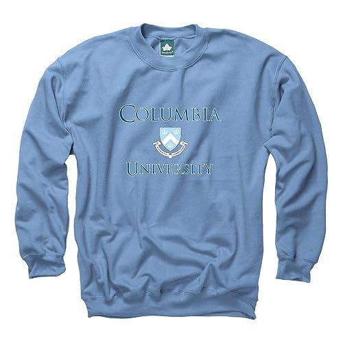 d9d1e96c6 Ivysport Premium Cotton Crewneck Sweatshirt with Crest Logo NCAA Colleges