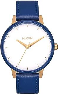 ساعة نيكسون للنساء ستانليس ستيل مع حزام من الجلد
