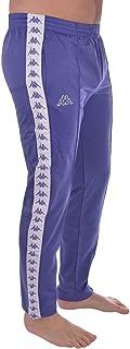 Kappa Mens 222 Banda Astoria Slim Fit Retro Tracksuit Pants