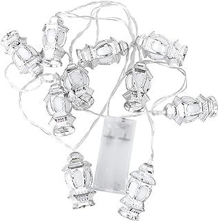 1Pcs 1.65M 10LEDs String Lights Muslim Ramadan Lanterns Fairy String Light Eid Light Decoration for Festival Birthday Part...