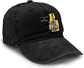Vintage Washed Baseball Cap Sultans of Swing The Very Best of Dire Straits Men Women Classic Adjustable Hat Dad-Hat Black