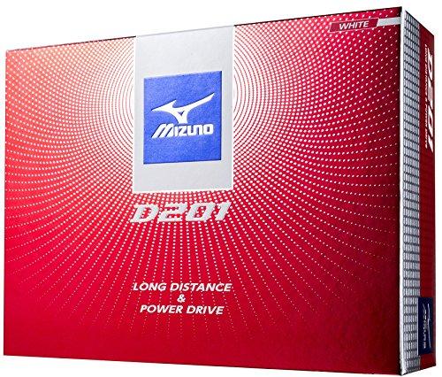 MIZUNO(ミズノ)ゴルフボールD2012017年モデル1ダース(12個入り)2ピースホワイト5NJBD22710