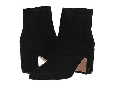 Sam Edelman Hilty (Black Suede Leather) Women