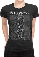 PixiePrints Women's Japanese Joy Division - Unknown Pleasures Punk Music T-Shirt