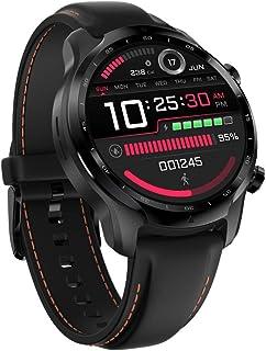Mahipey 3 GPS smartwatch, Wear OS by Google, Dual Layer Display 2.0, lange levensduur van de batterij, zwart