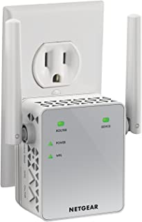 NETGEAR WiFi Range Extender EX3700 – Coverage up to 1000 sq.ft. and 15 devices with..
