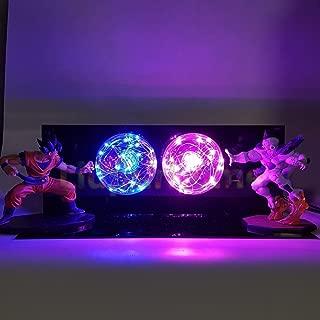 KAKALIN Dragon Ball Z Son Goku & Freeza Power up Led Light Lamp Action Figure Whole Set