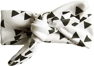 Infant Adjustable Headbands Turban Top Knot Patterned Rabbit Ears Cotton Tie Knot Headwrap