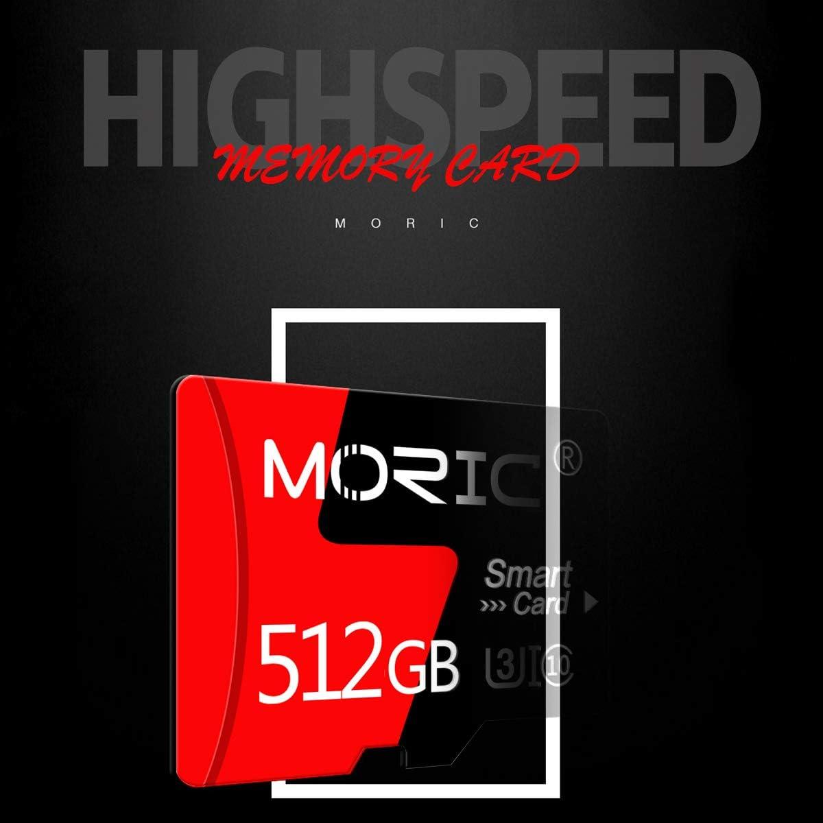 512GB Micro SD Memory Card Micro SD Card,TF Card 512GB High Speed Class 10 with SD Card Adapter