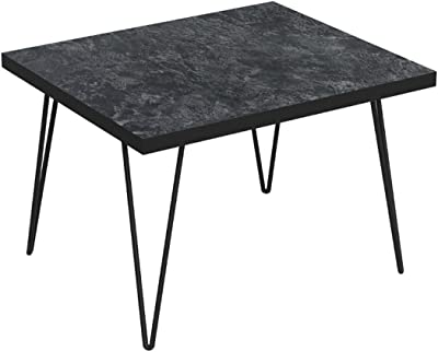 Bonamaison Coffee Table Black, Furniture for Living Room, Bedroom, Kitchen, Office - Designed and Manufactured in Turkey