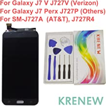 Touch Screen Replacement Digitizer Glass LCD Display Assembly for Samsung Galaxy J7 V J727V / J7 Perx J727P / SM-J727A J727R4 SM-J727U J727T J727T1 J727 / J7 Sky Pro (SM-S727VL S737TL) (Black)