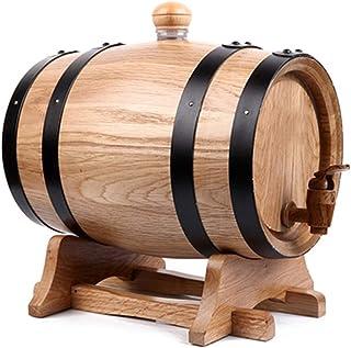 Fût Chêne Whisky 0.75L/1.5L/3L/5L/10L Tonneau De Chêne, Tonneau Vintage En Chêne Pour La Vinification Ou Espace De Rangeme...