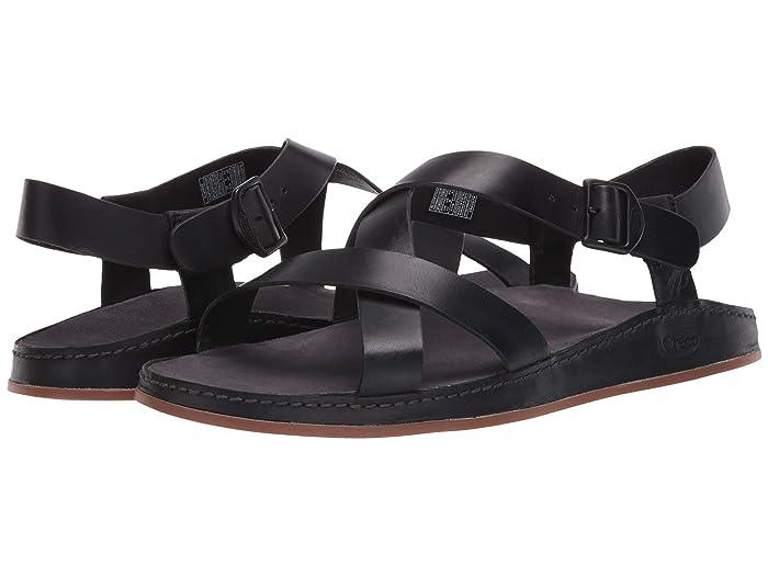 Chaco  Wayfarer (Black) Womens Sandals