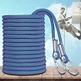 <span class='highlight'><span class='highlight'>WYZXR</span></span> Outdoor Climbing Rope, 12mm or 14mm or 16mm Diameter Climbing Auxiliary Lifeline, Suitable for Outdoor Use, Emergency, Survival, Camping, Mountaineering, Aerial Work Rope