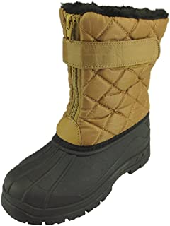 The Doll Maker Quilted Snow Boot