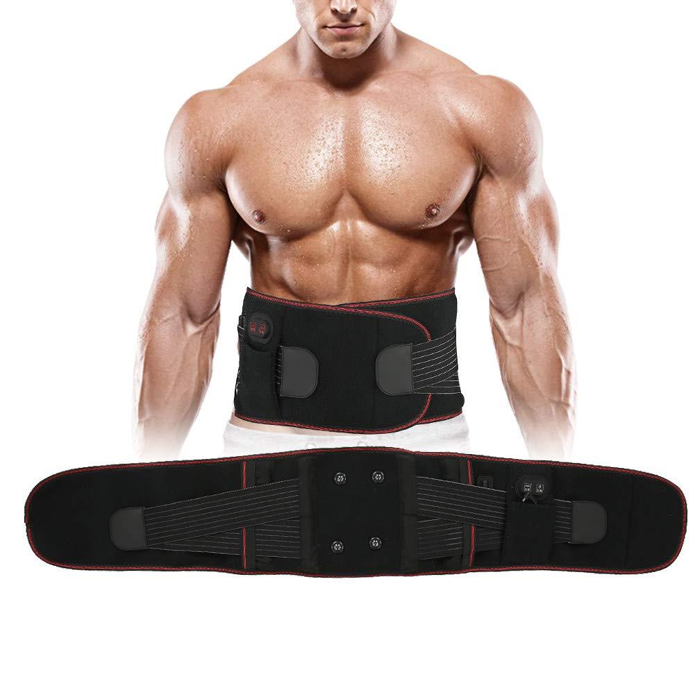 Duevin abdominal Rare trainer belly belt massage heating 5 ☆ popular electri