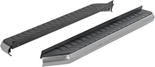 ARIES 2051867 AeroTread Running Boards 5 in. Polished Stainless Aluminum Mounting Brackets Sold Separately AeroTread Running Boards