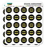 Batman Classic Bat Shield Logo Planner Calendar Scrapbooking Crafting Stickers