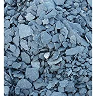 Blue Slate. Offcuts from roofing slate. Ideal for Screenscape, Water features, mulch, landscaping and aquatics. Blue angular pieces Please Note: The images shown are of washed aggregates, our product will look different when first removed from the ba...